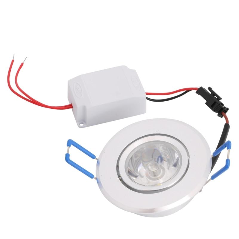 1W LED Lights 85-265V Cabinet Mini Downlight Spot Ceiling Lamp