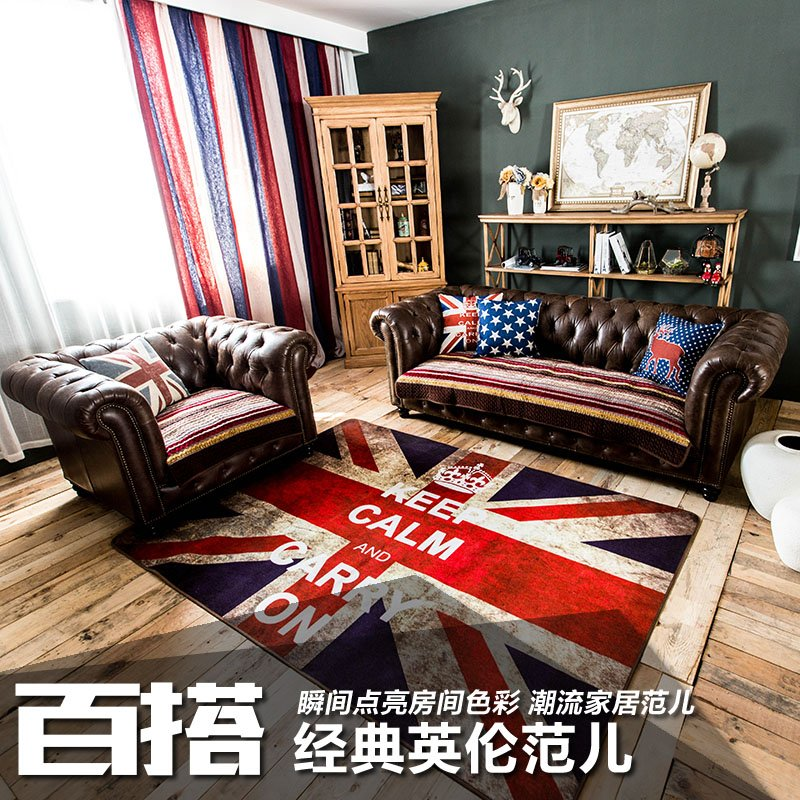British flag sofa home design for Union jack bedroom ideas