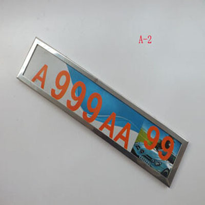 Free Shipping For Europe Metal License Plate Frame License Frame Car Styling Accessories 1 pcs, NO:A-2