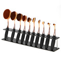 10 Holes Makeup Toothbrush Oval Brushes Display Holder Stand Storage Organizer Brush Dryer Showing Rack beauty tool