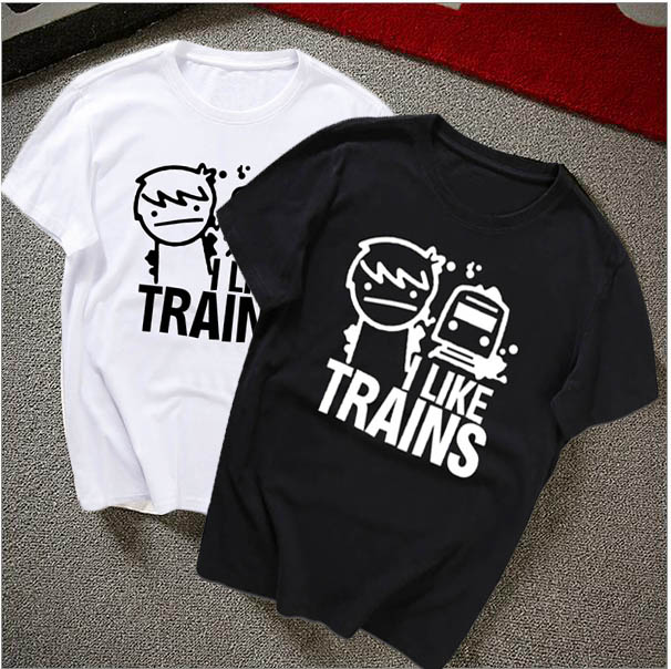 i like trains train asdfmovie asdf t shirt movie music funny logo print rock youtube tee top. Black Bedroom Furniture Sets. Home Design Ideas