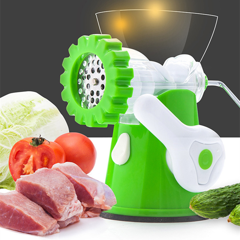 Manual Meat Grinder Quality Multifunctional Home Manual Meat Grinder For Mincing Meat Vegetable Spice Hand-cranked Meat