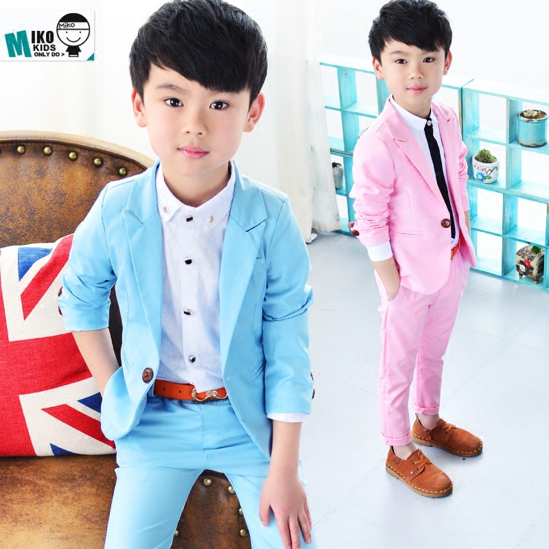 2017 Popular Korean Boys Leisure Wear Suit In Spring And