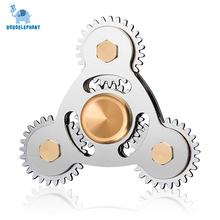 DODOELEPHANT Hand Spinner Brass Fidget Spinner Cube Focus Hand Spinner And ADHD EDC Anti Stress Toys Adults Kid TL-8 L4-4