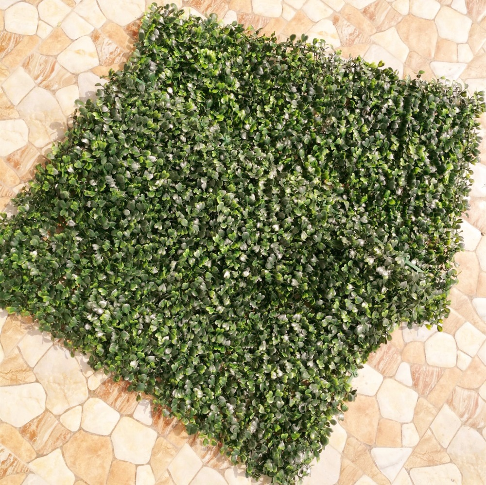 10pcs Plastic Grass Wall Artificial Grass Lawn Green Wall Turf Leaf Grass Mat Sod for Supermarket Shop Wall Decorations in Artificial Plants from Home Garden