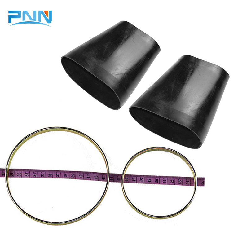 2 Sets Rubber Sleeve For Mercedes W220 Rubber Bellows Front Suspension Air Spring Bladder 2203202438