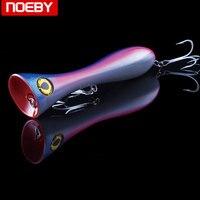 NOEBY Top Water Popper Bass Pike Carp Walleye Trout Plastic Fishing Wobbler Hard Baits Swimbaits Artificial