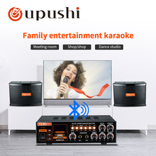 Home Theater Karaoke Sound System Stage Music Systems Power Amplifier Professional Wall Speaker Sets