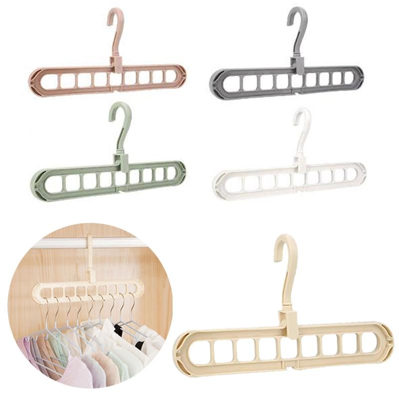 Вешалка для одежды, крючок PP, 360 градусов, органайзер для хранения места, шкаф, домашний шкаф, держатель для одежды, сушилка для одежды