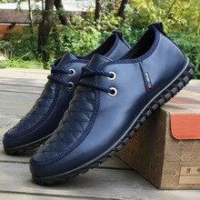 2017 Leisure Men's Shoes Spring Autumn Fashion Leather Shoes Men's British Wind Driving Peas Shoes Men's Business Casual Shoes
