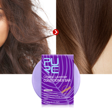 PURC handmade lavender hair conditioner bar deep conditioner for hair Organic lavender extract hair conditioner soap