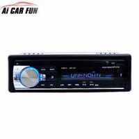 JSD520 Autoradio De Voiture Radio 12 V Bluetooth V2.0 Stéréo Au tableau de bord De Voiture 1 Din FM Entrée Aux Récepteur SD USB MP3 MMC WMA Voiture Radio Lecteur