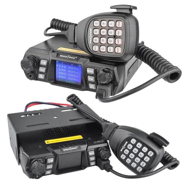 Mobile Ham Radio Transceiver VHF 75W UHF 55W High Power Mobile Auto Radio Dual Band Quad Standby Fahrzeug transceiver Station