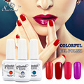 Saviland 1pcs Nail Varnish 15ml Gelpolish Gel Lacquer Esmalte Permanente Vernis Gel UV Soak Off Nail Polish