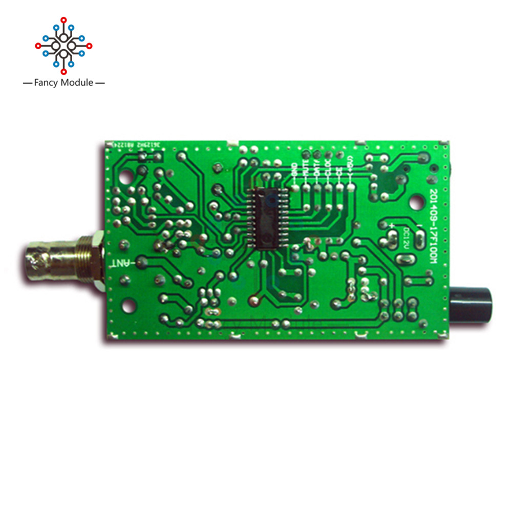 Bh1417f Fm Radio Transmitter Module 5v 12v Pll Stereo Digital Schematic Diagram Electronic Telephone Circuit Station Diy In Instrument Parts Accessories From Tools On Alibaba