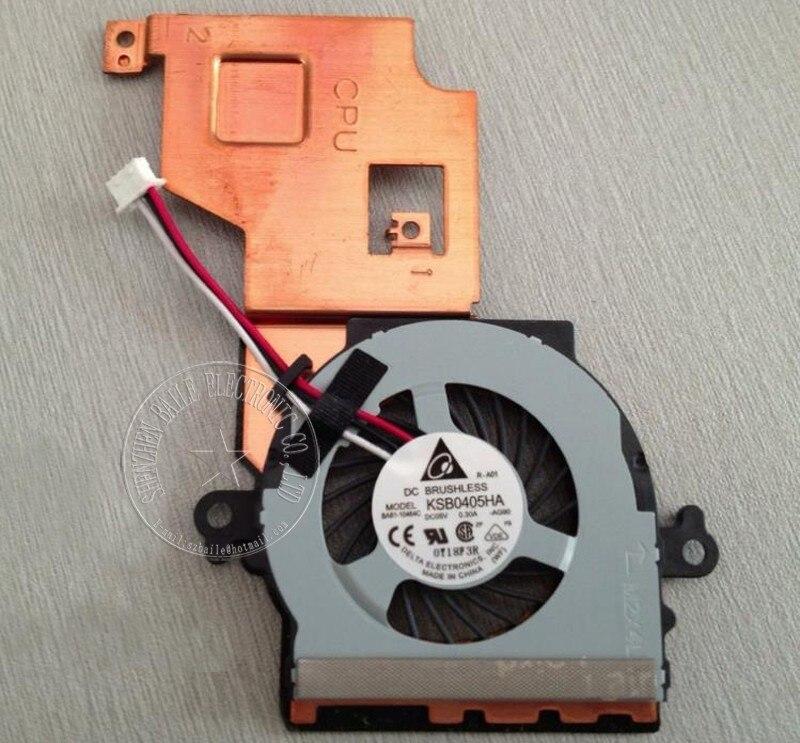 (5 Teile/los) Laptop Kühler Für Samsung Np Nf108 Nf110 Nf210 Cpu Fan Mit Kühlkörper Nf108 Nf110 Laptop Cpu-lüfter Kühler