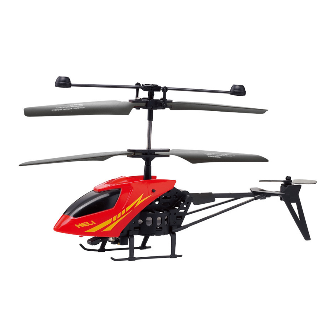 Shatter Resistant Radio Remote Control Aircraft 2.5CH I/R Quadcopter RC Helicopter Kids Gifts