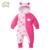 Colorido Footies Bebê 0-12 Meses Macacão + Chapéu + Sapatos Öko-tex 100 Certificado Com Capuz Bebê Snowsuits roupas Roupas Das Meninas Dos Meninos