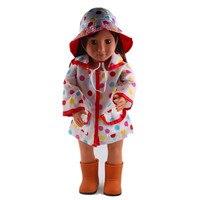 Прекрасный комплект одежды, Обувь 18 дюйм(ов) американский одежды куклы, чтобы дать ребенку Best подарок!