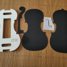 1 Набор 4/4 скрипка Шея/F отверстие тамплет и форма/форма тамплет Скрипка Инструменты для изготовления