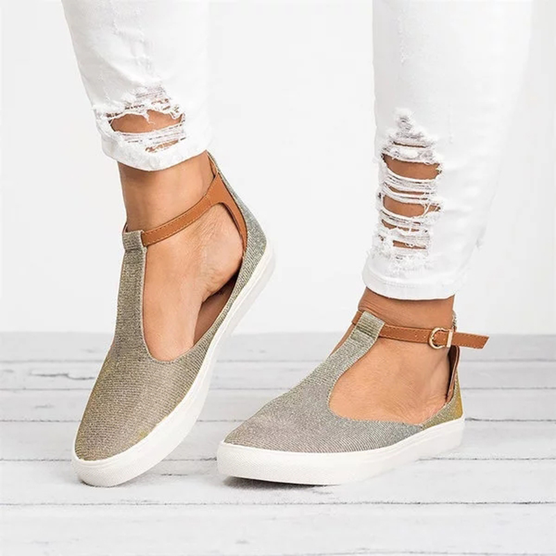 Women Vulcanized Shoes Woman Sneakers Shoes 2018 Fashion Solid Pu Hollow Women Flats Canvas Shoes Buckle Casual Ladies hee grand solid patent leather women oxfords british new fashion platform flats casual buckle strap ladies shoes woman xwd5833