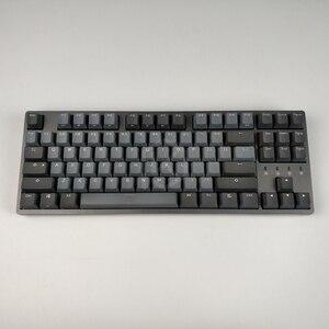 Image 3 - Durgod 87 taurus k320 clavier mécanique utilisant des commutateurs cherry mx pbt doubleshot keycaps marron bleu noir rouge argent commutateur