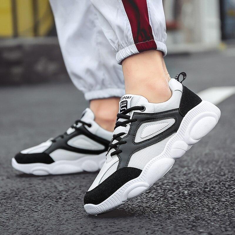 OSCO printemps été chaussures décontractées pour hommes sneaker à la mode confortable maille mode chaussures à lacets adultes hommes chaussures zapatos hombre