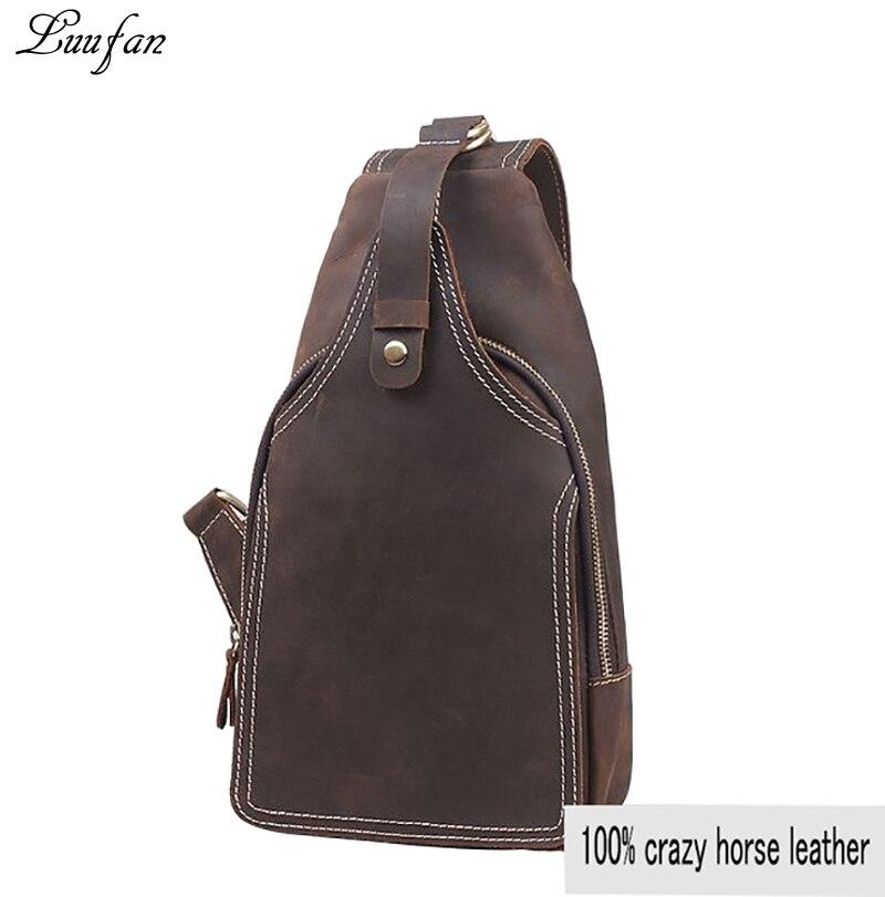 ผู้ชายบ้าม้าหนังหน้าอกหนังวัวขนาดเล็กกระเป๋าเดินทางวินเทจหนังวัวcrossbodyกระเป๋าสีน้ำตาลiPadกระเป๋าmessenger-ใน กระเป๋าสะพายข้าง จาก สัมภาระและกระเป๋า บน AliExpress - 11.11_สิบเอ็ด สิบเอ็ดวันคนโสด 1