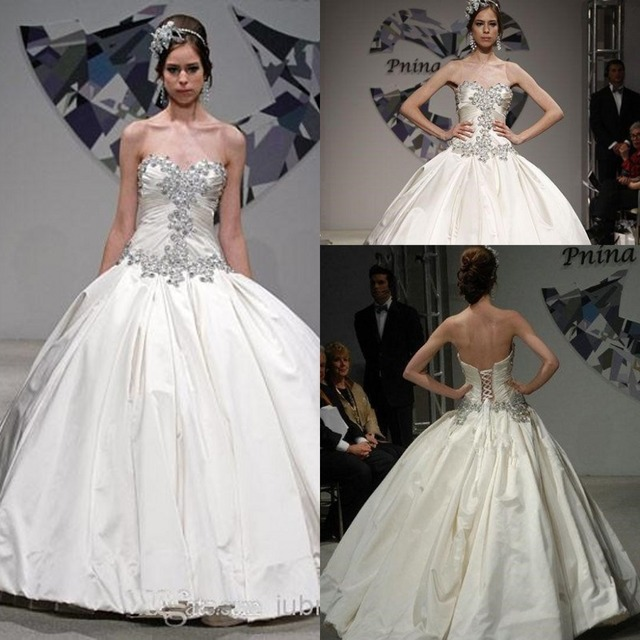 7d7d344e67efd Modern Hijab Style Wedding Dresses Ebay Ball Gown vestido madrinha  casamento Sweetheart Beading Taffeta Bridal Gowns 2015