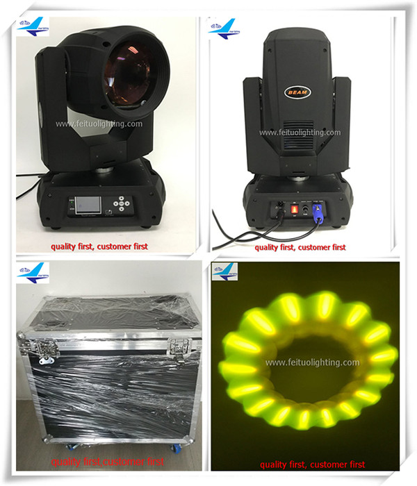 (Flight Case)China New Products 350W Beam Moving Head Wash Spot Light 17r Moving Head 3 in 1 flight fps 17