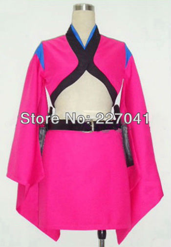 Gintama Kijima Matako Cosplay Costume Halloween Cloth Free Shipping