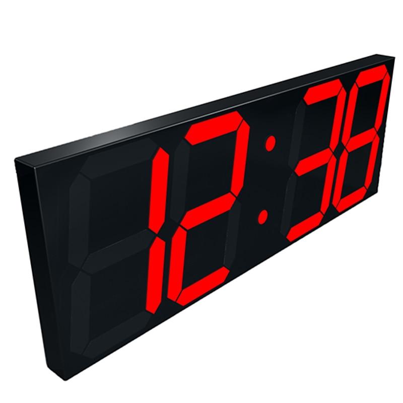 3D LED Wall Clock Modern Digital Table Desktop Alarm Clock