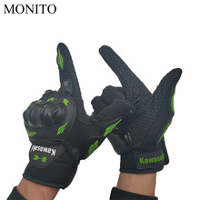 Hot Motorcycle Full Finger Gloves Warm Safety Protective Gloves Motocross For Kawasaki GPZ 500 600R 750 900 EX500 Z750 ZR750 ZX6