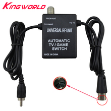 3 in 1 Universal RF Unit Adapter Automatic TV Game Switch Cable for NES for SNES for Genesis 1