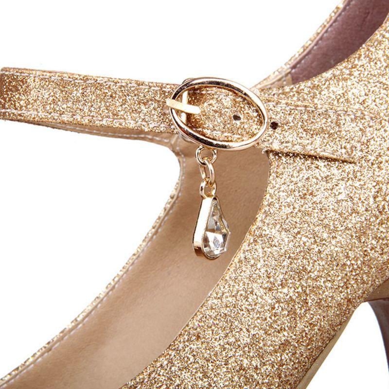 RIZABINA free shipping high heel shoes women sexy dress footwear fashion pumps P11790 EUR size 32-43