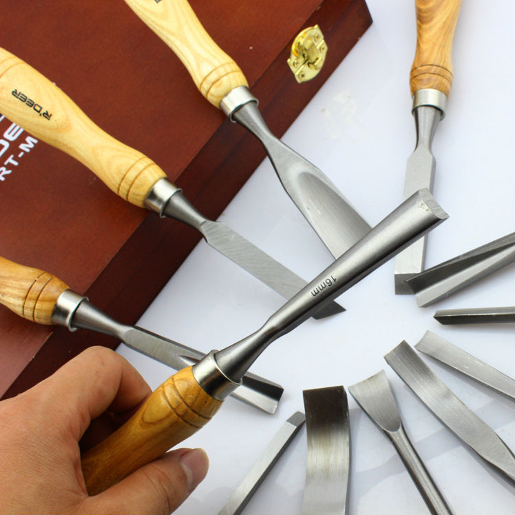 Carving A Wooden Knife: Brand New Quality 12 PCS Graver Wooden Tools Graver Knife