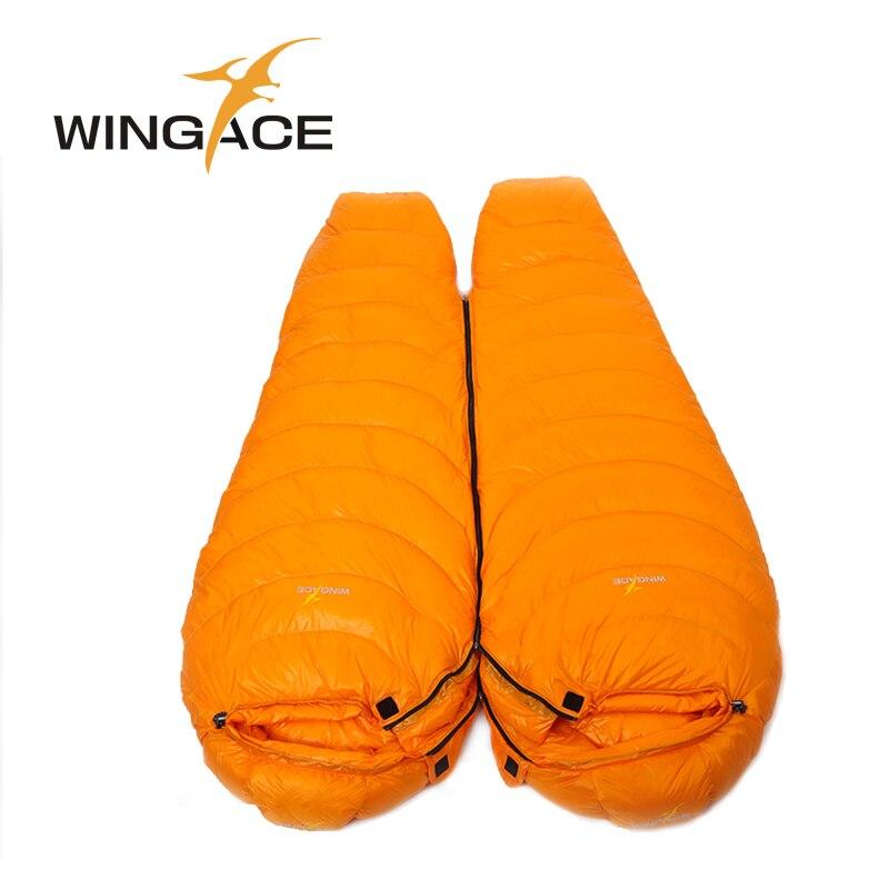 Ispunite 2000G 3000G 4000G guska dolje vreća za spavanje zima mumija - Kampiranje i planinarenje - Foto 5