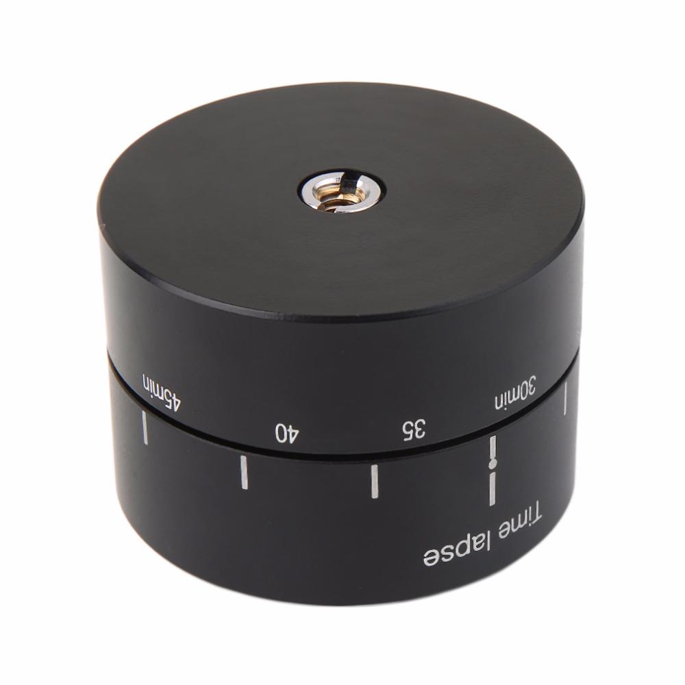 Prix pour 360 Degrés Rotule Panoramique Tournant Accéléré Stabilisateur Trépied Adaptateur Pour GoPro DSLR Caméras D'action Photographie Accessoires