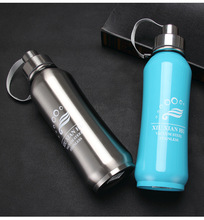 1PC 800ml Stainless bottle vacuum bottles Men heat cold insulation coffee Tea mug drinkware Insulated Thermo Cup KD 1456