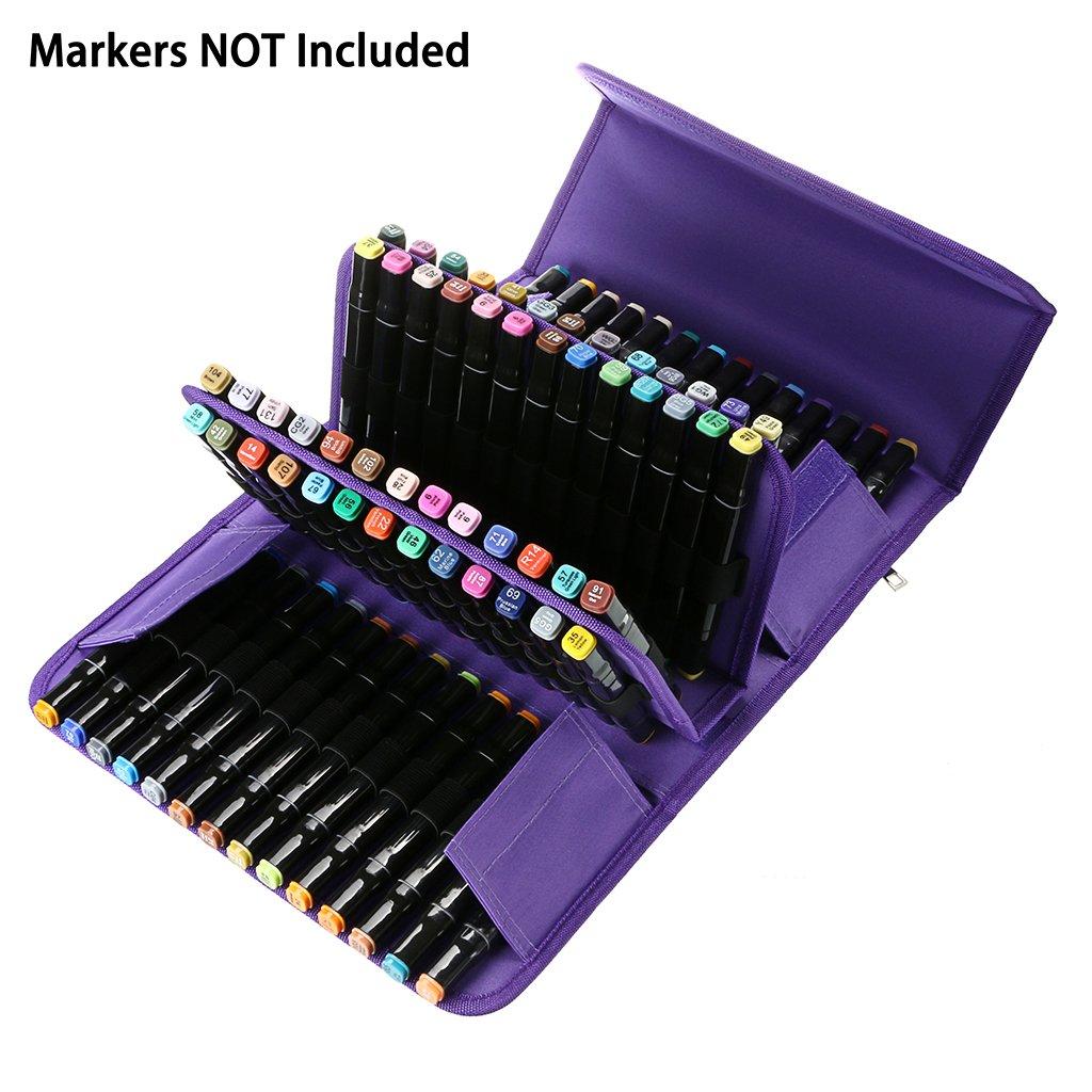 caneta caso arte marcadores caneta armazenamento saco