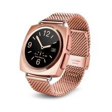 สมาร์ทนาฬิกาA11รอบหน้าจออัตราการเต้นหัวใจMonitor S Mart W Atch TFซิมการ์ดนาฬิกาสำหรับiPhone XiaomiซัมซุงเลอโนโวLG Sony Androik