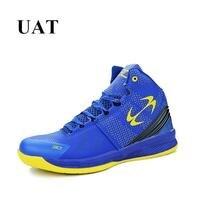 4 colores nueva llegada 2017 zapatos de baloncesto de los hombres de la marca mujer Zapatillas superior alta para los amantes del deporte Zapatos bota del tobillo estilo