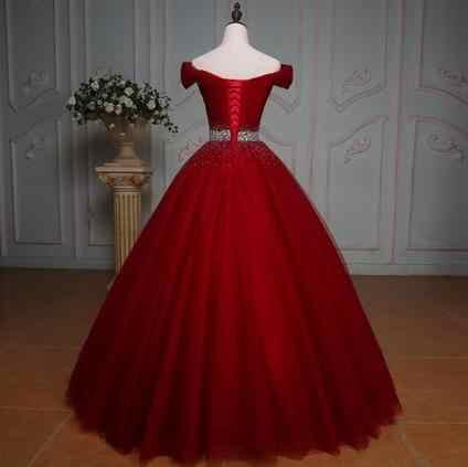 BANVASAC 2018 בציר גבישי אבנט V צוואר חתונת שמלות נדל תמונות תחרה כדור שמלה קצר שרוול כלה שמלות