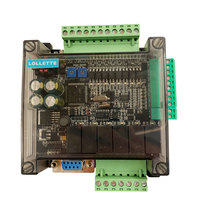 High speed FX1N FX2N FX3U 14MR/10MR industrial control board PLC with 485 communication protocol No data line