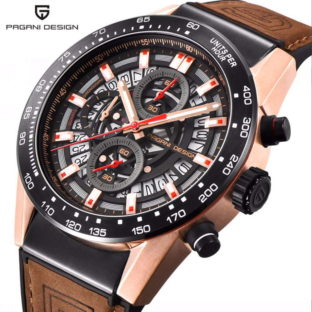 2019 New PAGANI DESIGN Top Luxury Brand Sports Chronograph Mens Watches Waterproof Quartz Watches Clock Relogios Masculino saat2019 New PAGANI DESIGN Top Luxury Brand Sports Chronograph Mens Watches Waterproof Quartz Watches Clock Relogios Masculino saat