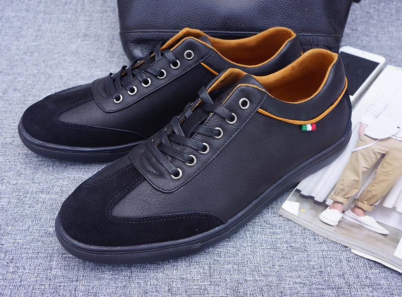 ФОТО Latest style Herrenschuhe Flats Men Black Brand Name Men Shoes crocodile shoes mens Genuine Leather Breathable Massage 2016-10-9