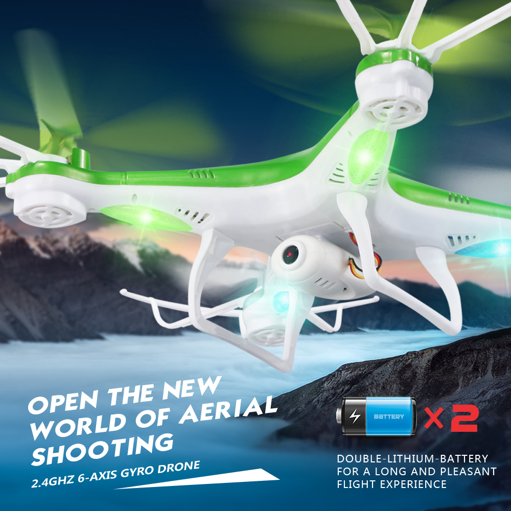 JJRC H97 4CH 2 4G 6 Axis Gyro RC Quadcopter RC Drones with Camera One Key