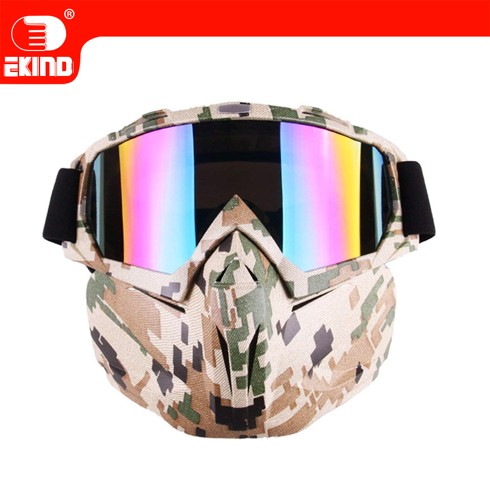 Tactical Paintball Mask Airsoft Safety Goggles Mask UV400 Protection For Nerf Series Blasters Kid Toy Gun