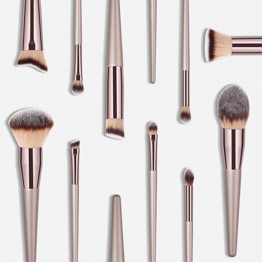 Powder Brush Makeup Handcrafted Set Dollhouse Miniature Blush