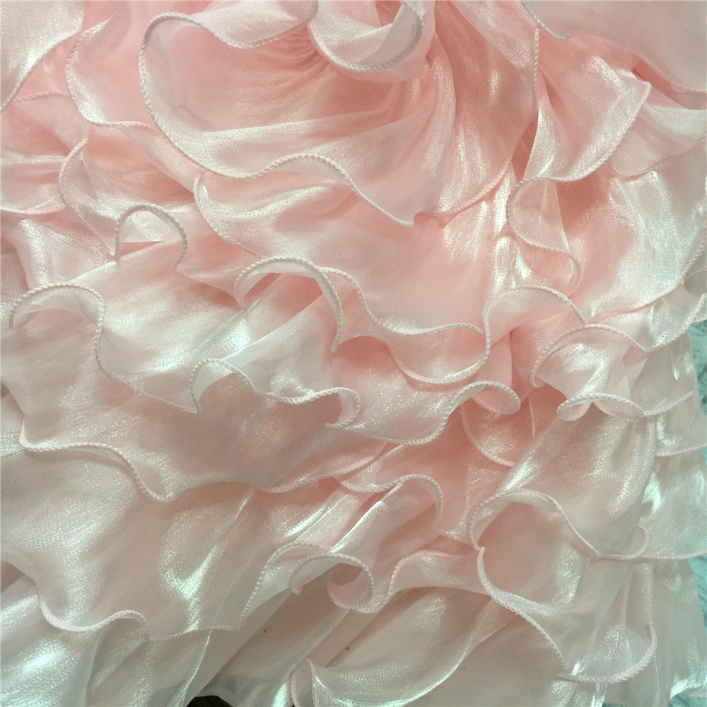 Free Shipping Princess 4 6 Years Child Party Dresses 2019 New Arrival Kids Evening Gowns Lace Appliques Pink Girl Dress Organza in Dresses from Mother Kids